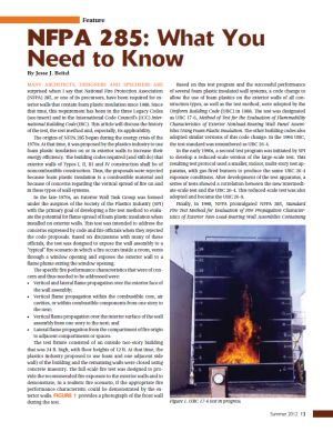 NFPA 285 Article thumb