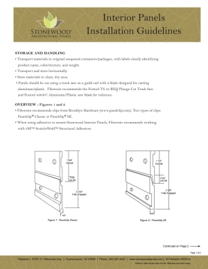 interior Installation Guidelines thumb