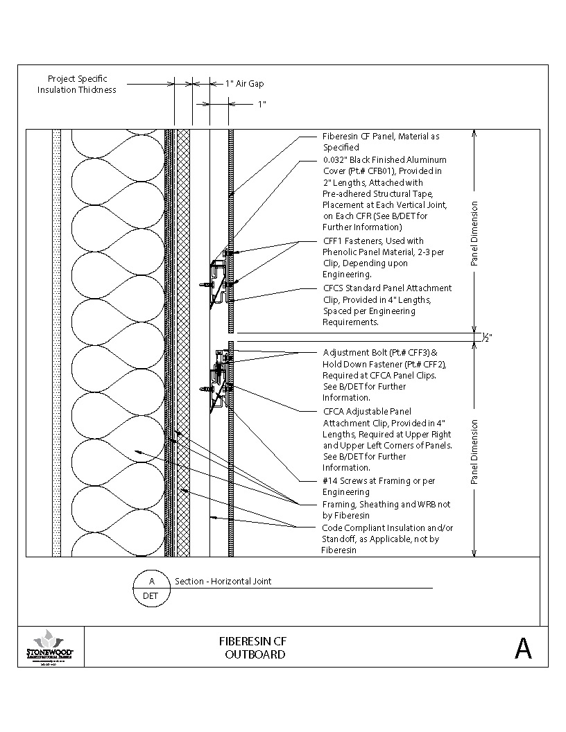 Insulated Outboard Section Horizontal Joint A PDF