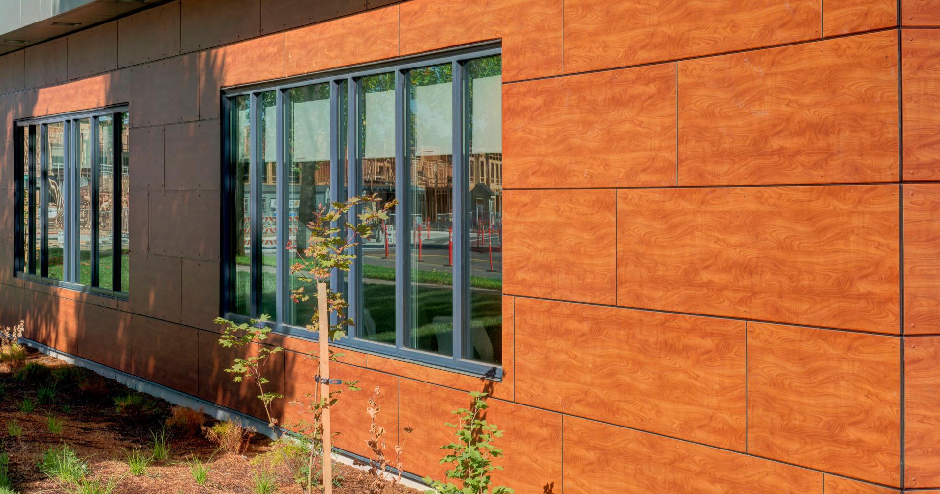 Stonewood architectural panels - Airstone exterior adhesive alternative ...